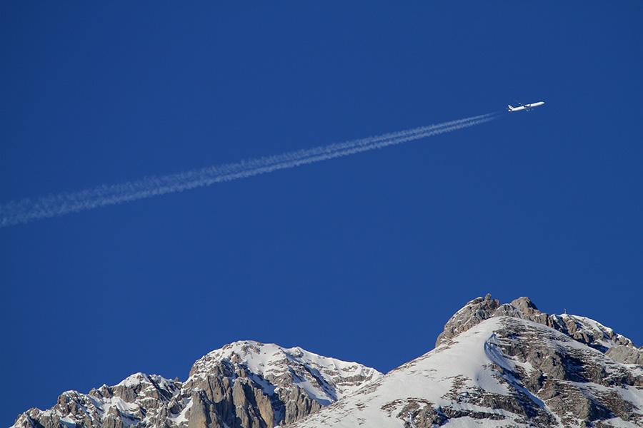 飛行機雲作品2