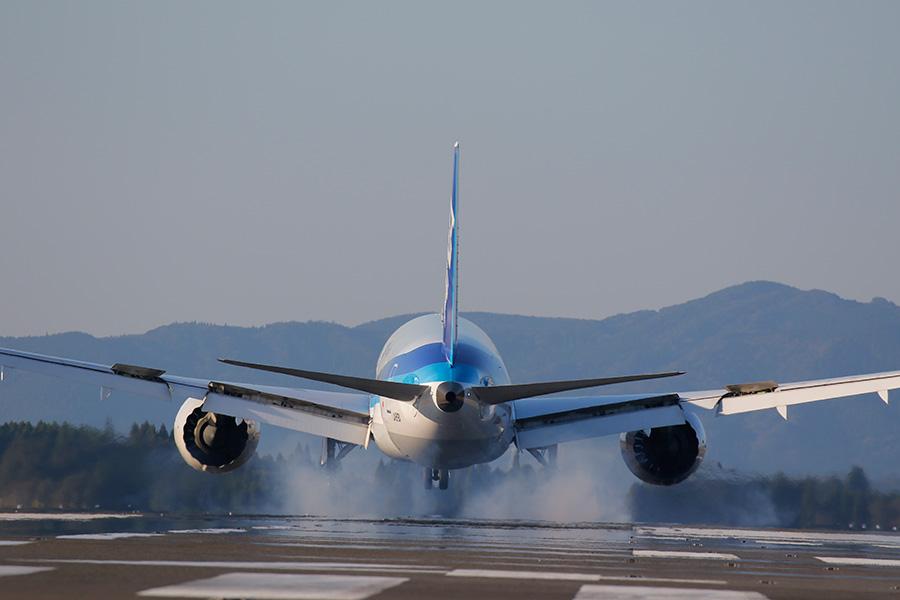 着陸」の撮り方 - 写真の撮り方アーカイブ - キヤノンイメージゲートウェイ