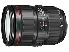 EF24-105mm F4L IS II USM 製品画像